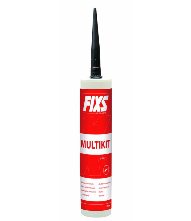 Fixs Polymeerkleber Anthrazit 290ml Tube