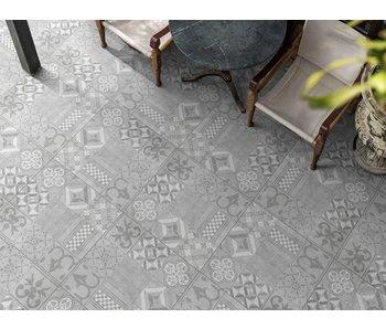 GeoCeramica Mosaik Grey  60x60x4