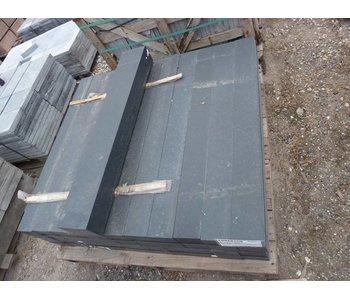 Basaltrandstein/Palisade 100x15x10 cm