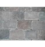 Altstadtpflaster Antik Braun-Schwarz 15x20x6 cm