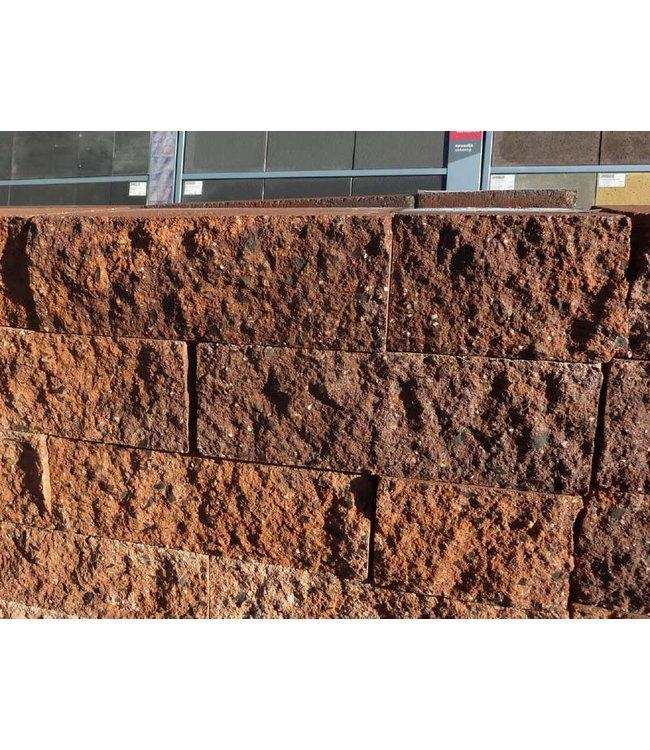 Mauerstein Malagutti gebrochen