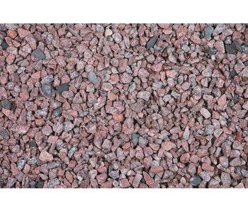 Granit Rosa Splitt 8-16 / 20kg Sack