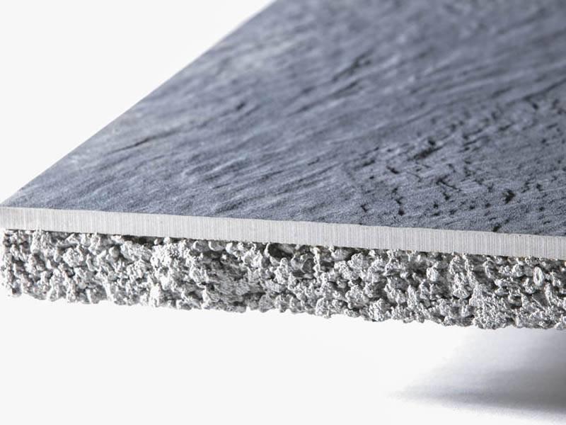 GeoCeramica Copper Steel 80x80x4