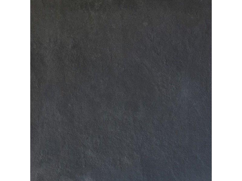 Keramische Terrassenplatte Slate Black 60x60x3