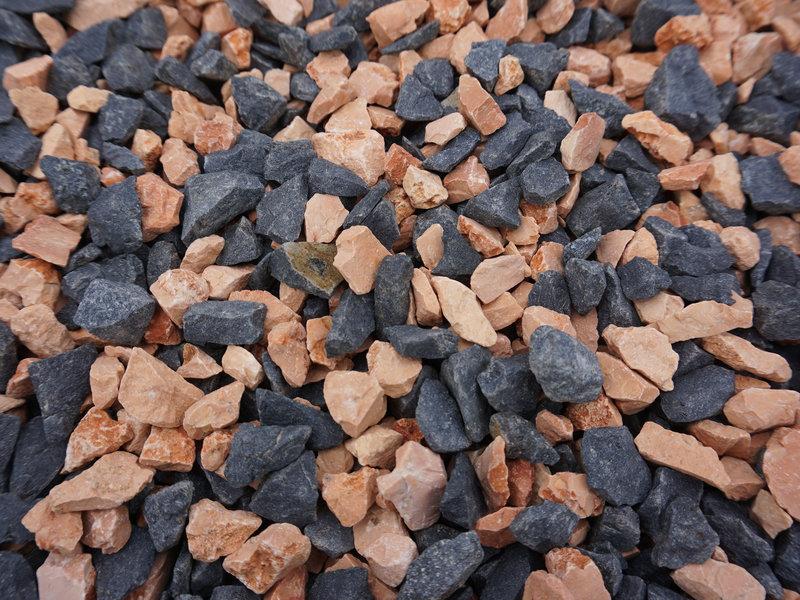 Black orange split 8-12 mm