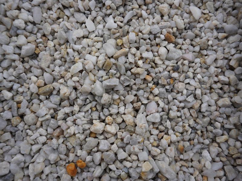 Parel witte grind 2-8 mm