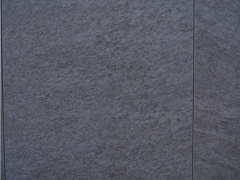 Keramische Terrassenplatte Scout Black 60x60x3