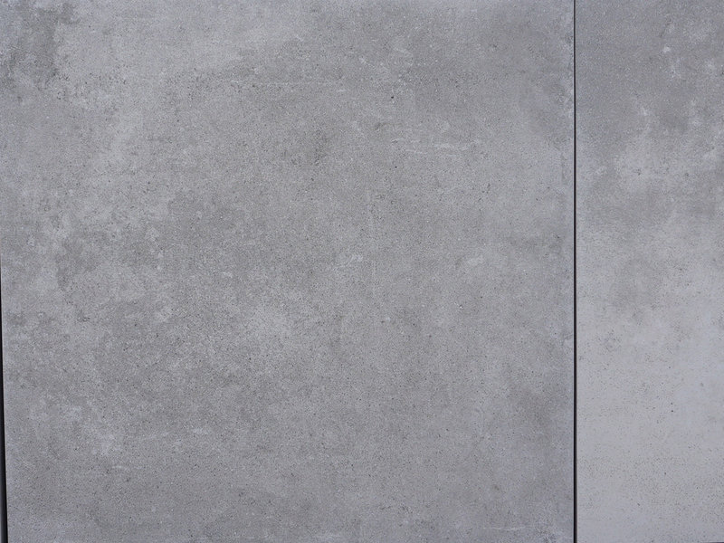 Keramische Terrassenplatte Ultra Contemporay Light Grey 60x60x3