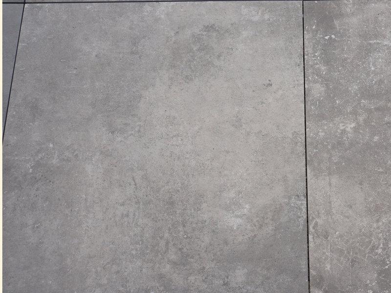 Keramische Terrassenplatte Palazzo Grigio 90x90x3