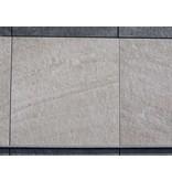 Keramische Terrassenplatte Barge Sand 60x60x2 cm