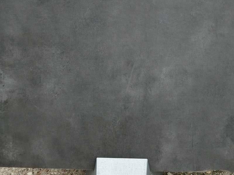Keramische Terrassenplatte City Antracite 90x90x2 cm