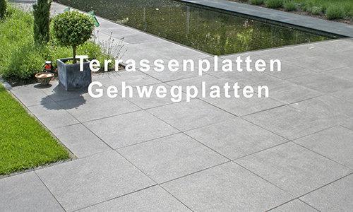 Terrassen- & Gehwegplatten