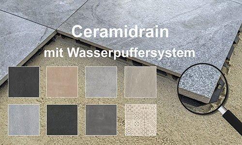 Ceramidrain-Waterbufferingsystem