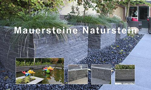 Mauersteine Naturstein