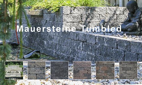 Mauersteine Tumbled