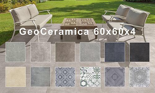 GeoCeramica 60x60x4 cm