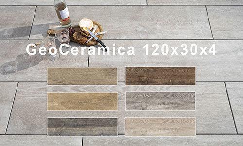 GeoCeramica 120x30x4 cm