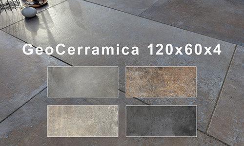 GeoCeramica 120x60x4 cm