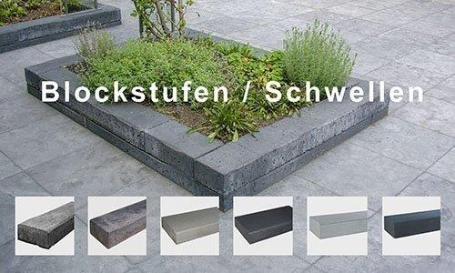Blockstufen / Schwellen