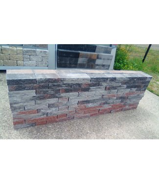 Wallblock Splitt Twents Bunt Wildverband 15 cm