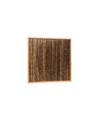 Bambus-Sichtschutz 186x186 cm