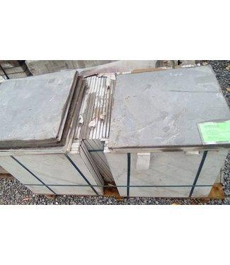 19 m² Chinesischer Hartstein Scharfkantig 50x50x1,5 cm