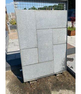 Granit G654 80x40x3 cm Geflammt und Gebürstet
