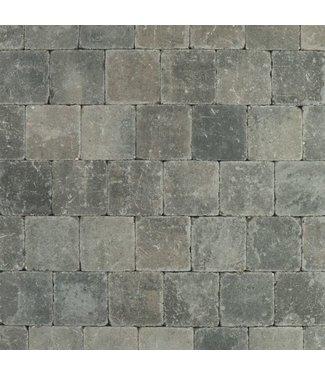 Altstadtpflaster Antik Grau-Schwarz 15x15x6 cm