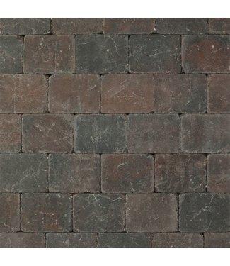 Altstadtpflaster Antik Braun-Schwarz 15x15x6 cm
