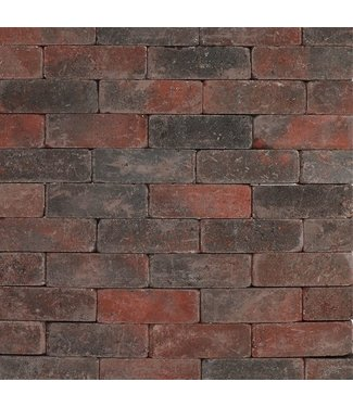 Tambour Rot-Schwarz 21x7x7 cm
