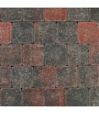 Tambour Rot-Schwarz 20x20x6 cm