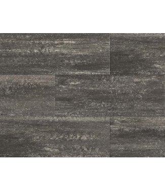 60Plus Soft Comfort Grau/Schwarz 30x40x6 cm
