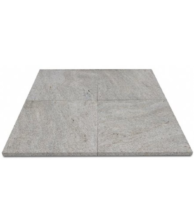 Granit Agello Beige geflammt / gebürstet
