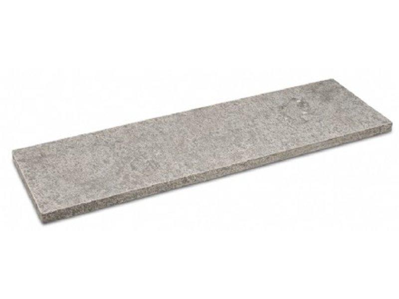 Chinesischer Hartstein geflammt Teichrand 100x30x3cm