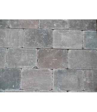 Altstadtpflaster Antik Braun-Schwarz 20x30x6 cm