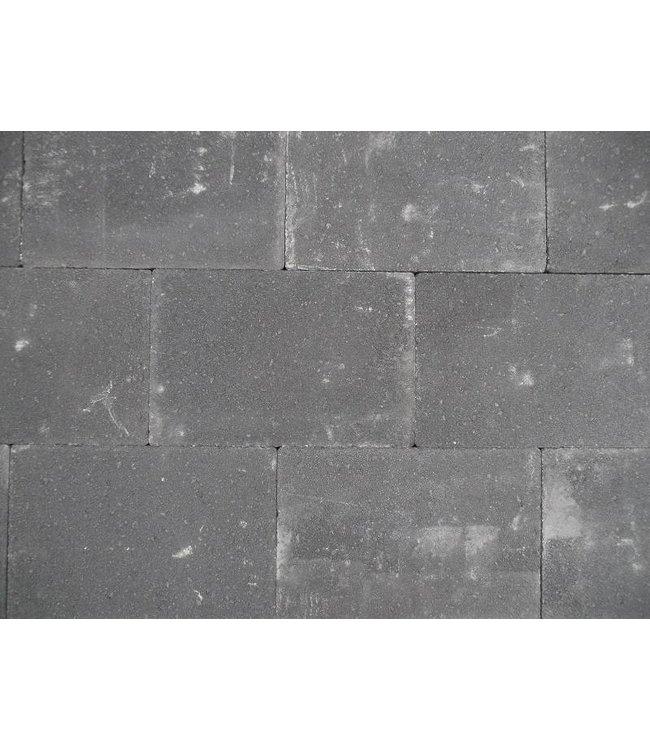 Altstadtpflaster Scharfkantig schwarz 20x30x6