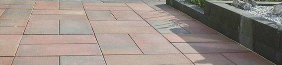 Imprägnierte Terrassenplatten