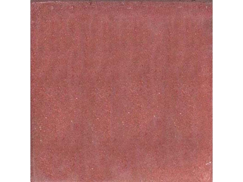 Betonplatte mit Fase Rot