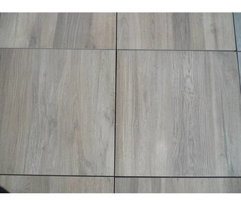 Feinsteinzeug Terrassenplatte Genua Wood Light Brown RC 60x60x2cm