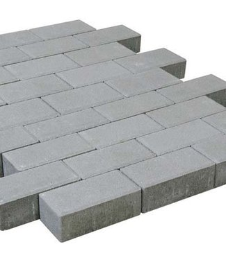 Tremico Rechteckpflaster Grau 21x10,5x7 cm