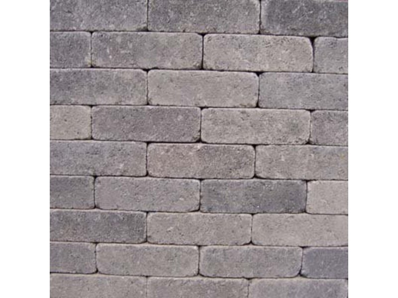 Dickformat Grau/Schwarz Antik 21x6,6x6,6 cm