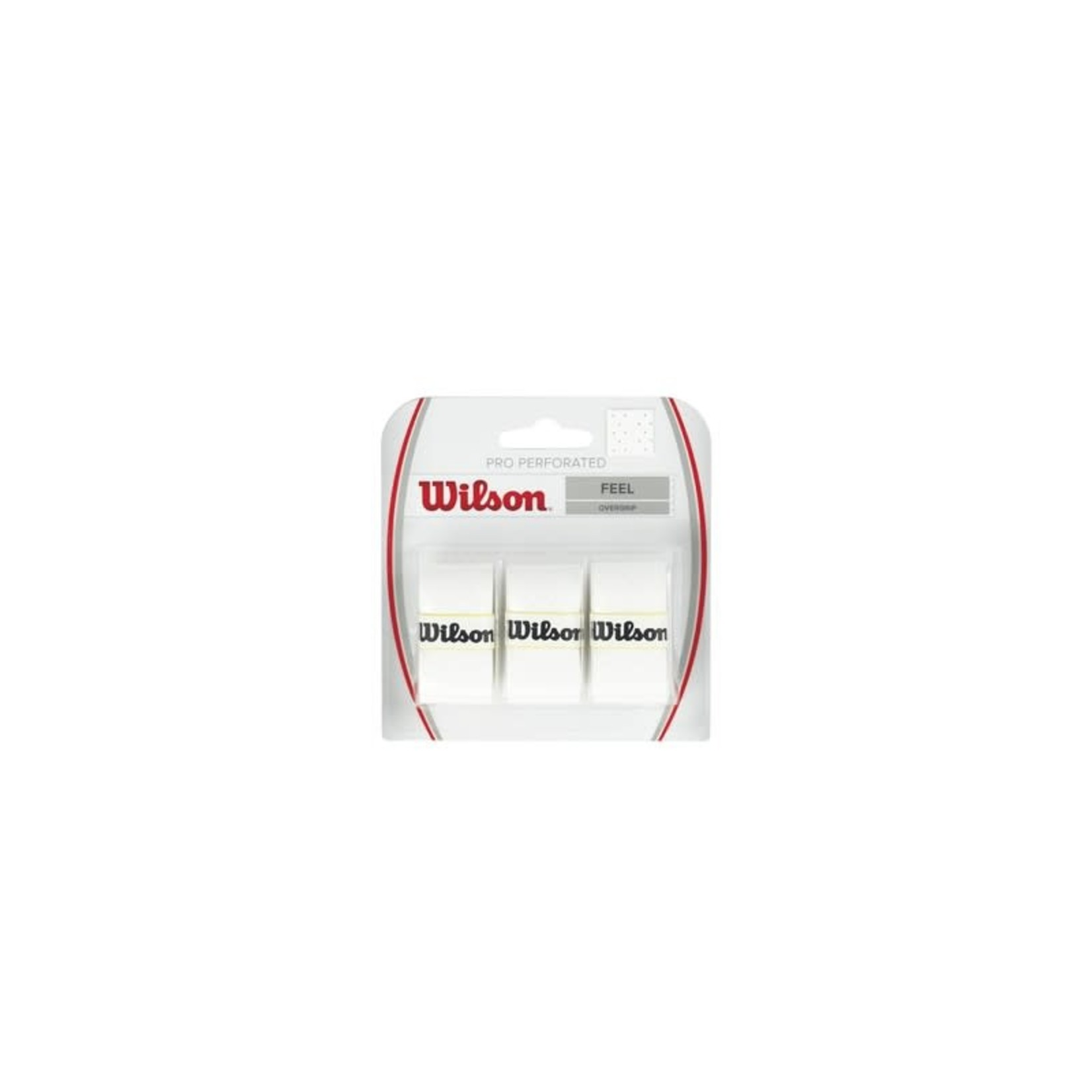 Wilson Pro OverGrip Perforated Wit