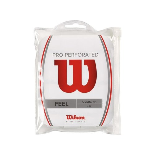 Wilson Pro Overgrip Perforated 12PK