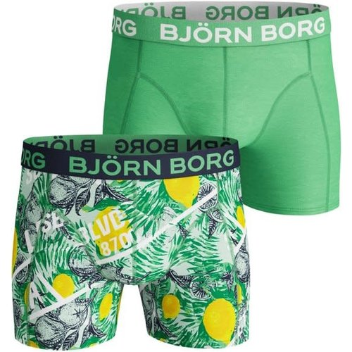 Björn Borg Heren 2 Pack Shorts -  La Lemon