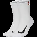 Nike Unisex Nikecourt Multiplier Crew Sock Cushioned (2 paar)