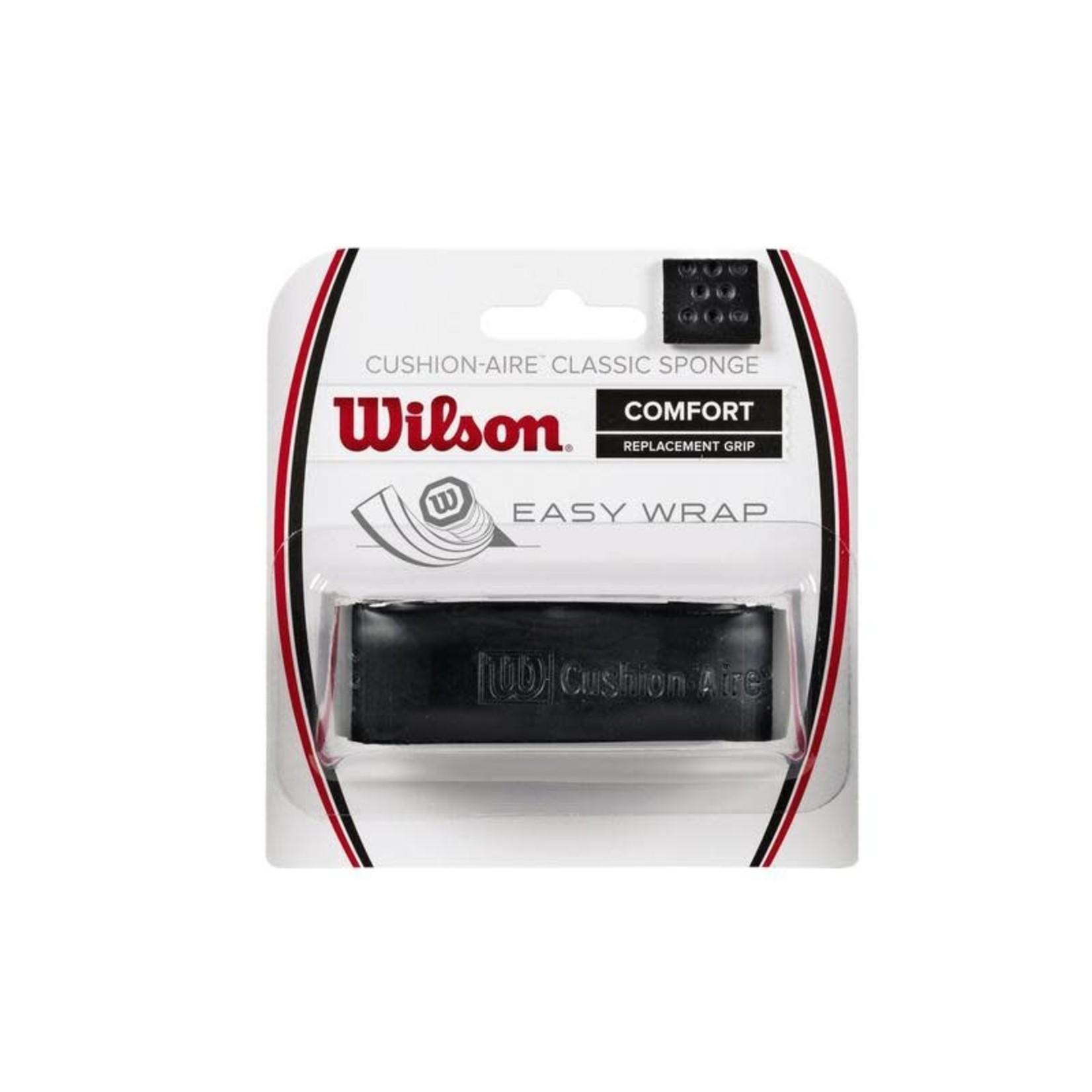 Wilson Cushion-Aire Classic Sponge Replacement Grip Zwart