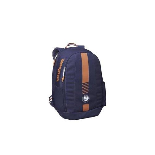 Wilson Roland Garros Team Backpack Donkerblauw/Gravel