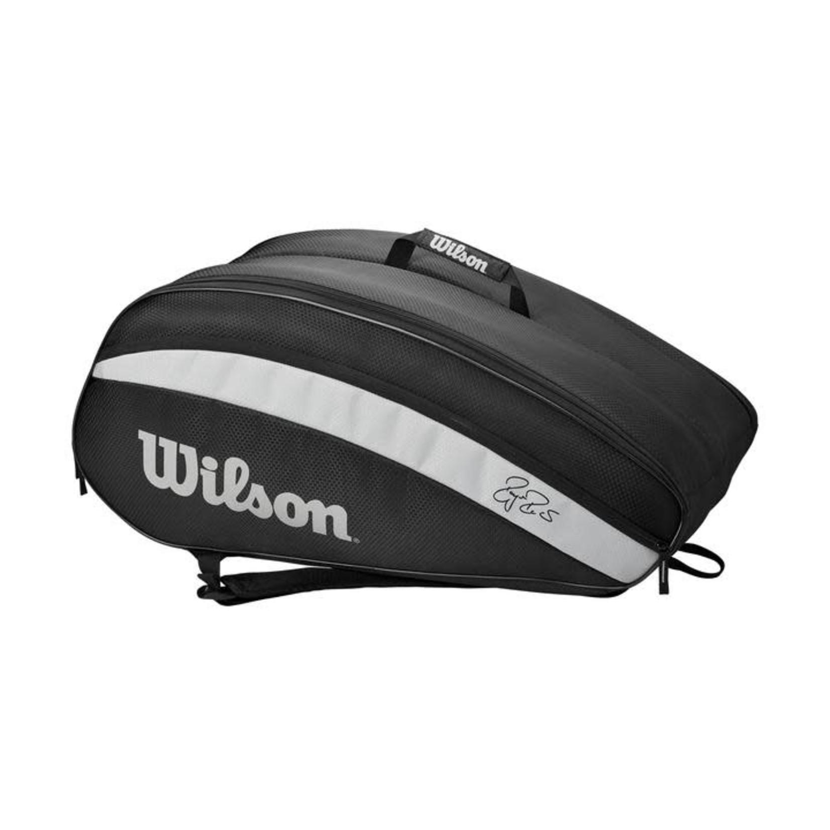 Wilson Roger Federer Team 12 Pack Zwart