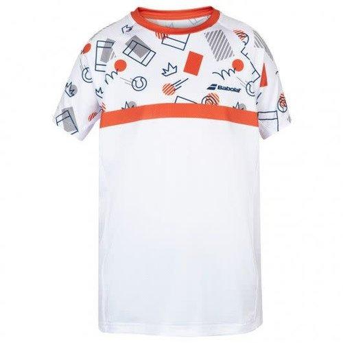 Babolat Jongen - Compete Crew Neck T-Shirt