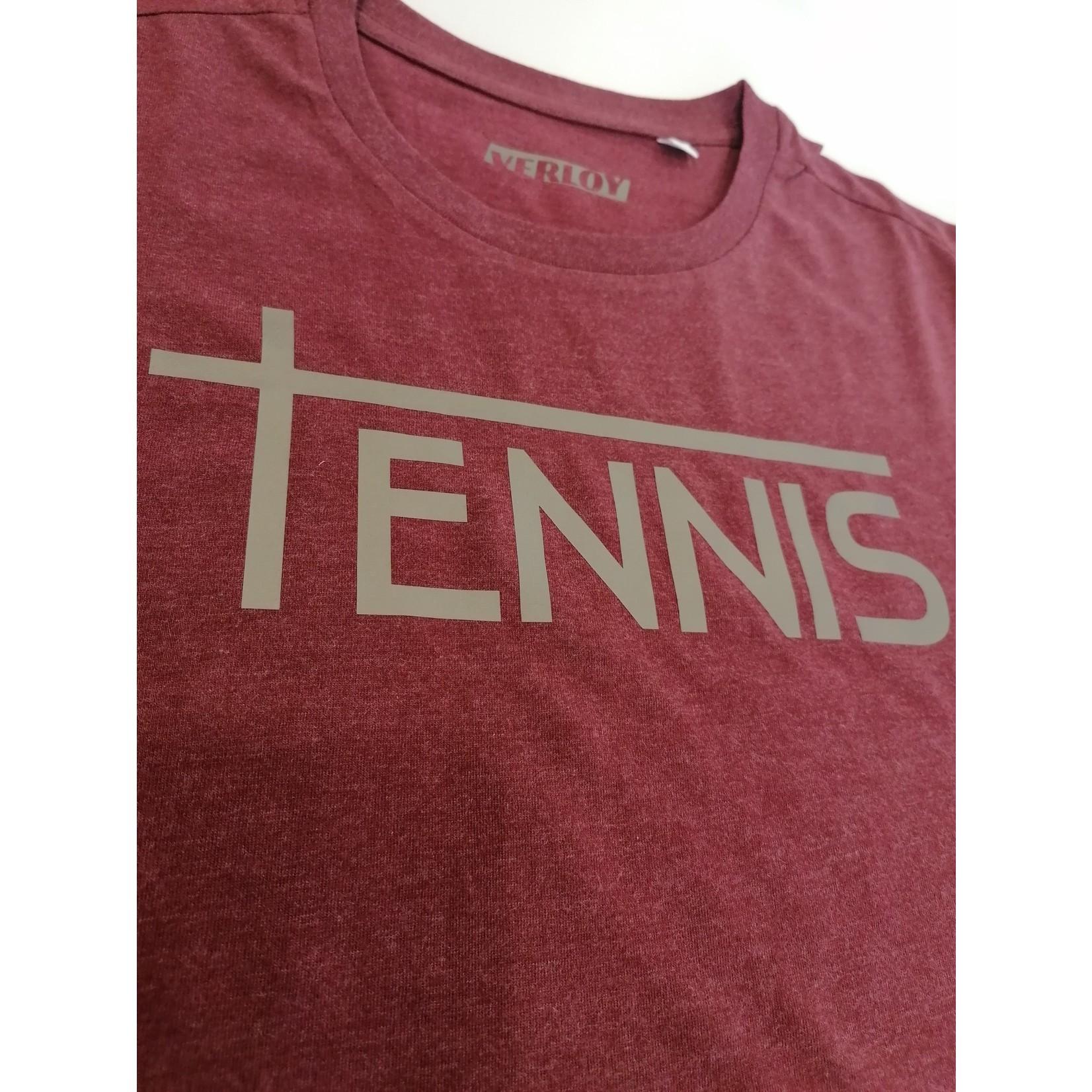 Verloy Heren Organic Cotton Tennis T-shirt